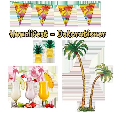 hawaii fest dekoration