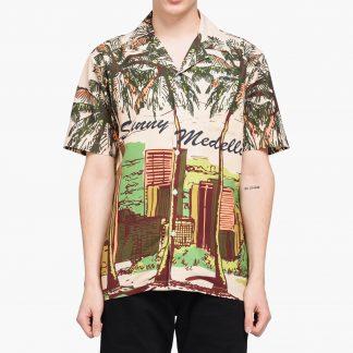 40s & Shorties - Sunny Medellin Aloha Shirt - Multi - S