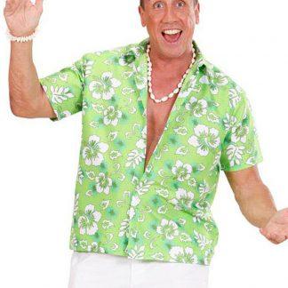 Aloha Grön Hawaii Skjorta