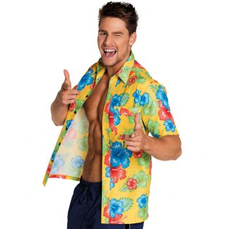 Blommig Hawaiiskjorta