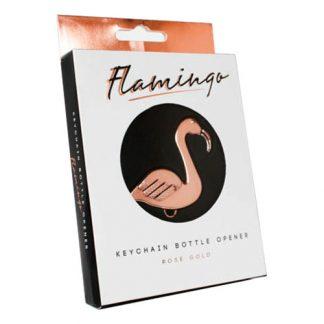 Flamingo Flasköppnare på Nyckelring