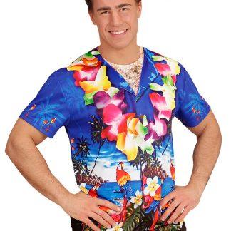 Fotorealistisk Hawaii T-shirt (Herr)