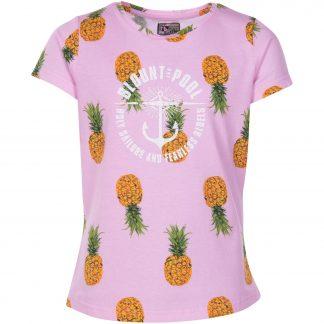 Hawaii Tee Jr, Pink Pineapple, 150, T-Shirts