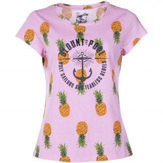 Hawaii Tee W, Pink Pineapple, 46, T-Shirts
