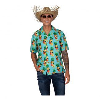 Hawaiiskjorta Ananas - Large