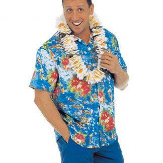 Hawaiiskjorta - Blå