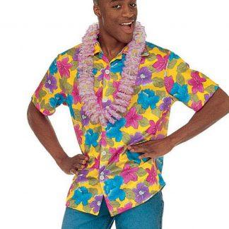 Hawaiiskjorta - Gul