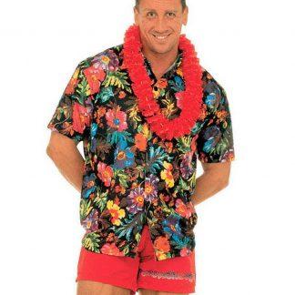 Hawaiiskjorta - Svart