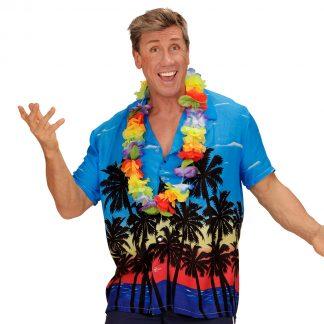 Hawaiiskjorta blå XL