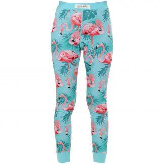 Pants Baselayer Jr, Flamingo Aop, 110, Byxor