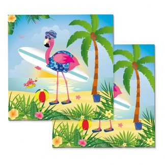Servetter Cool Flamingo - 20-pack