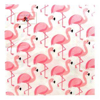 Servetter Flamingo - 20-pack