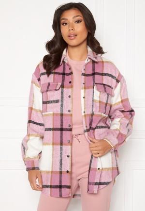 Sisters Point Eira Shirt 843 Flamingo Check M