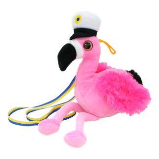 Studentdjur Flamingo Rosa - 30 cm