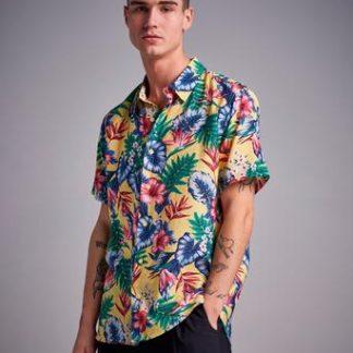 Studio Total Hawaii Printed S/S Shirt Gul