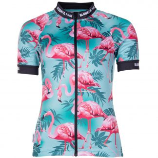 Tour Bike Tee W, Turquoise Flamingo, 38, T-Shirts