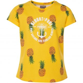 hawaii tee jr, yellow pineapple, 100, t-shirts