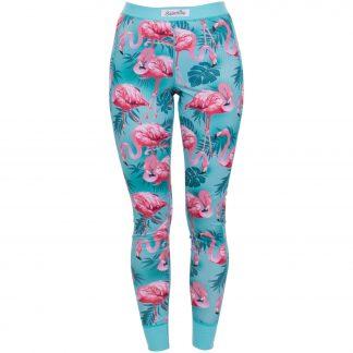pants baselayer w, flamingo aop, 36, underställ