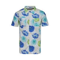Hawaii shirt with all over flower print